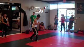 Richmond Martial Arts Tricks N Flip Class