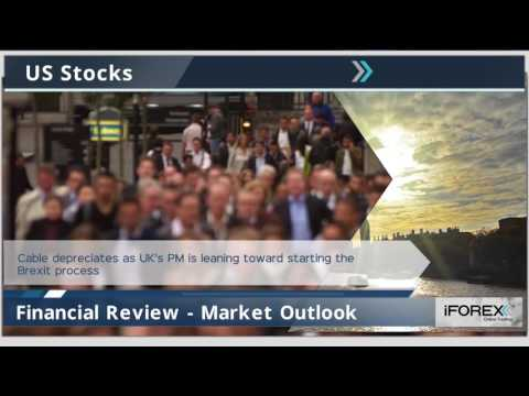 Market Headlines 22-08-2016: GBP, US Stocks and Crude oil.