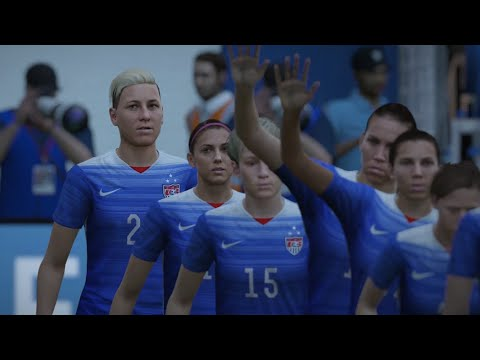 FIFA 16 - United States vs Germany + Extra Time! (Women's Football DEMO)