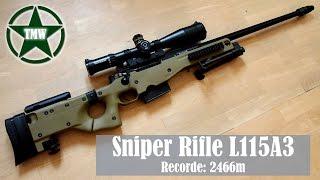Sniper Rifle l115a3 - Arma do tiro de maior distância já registrado!