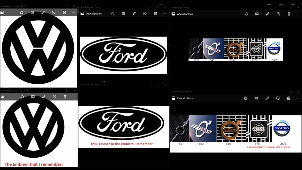 The Mandela Effect On Car Logos Consciousness Is Shifting Youtube
