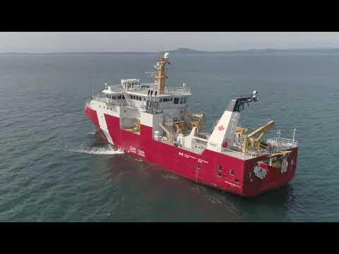 2019 Sea Trials - OFSV1 Sir John Franklin