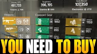the division 8 things you have to buy right now god roll weapons gear gear mods