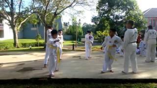 Taekwondo Keiyu Saddha: Berlatih Menempa Diri