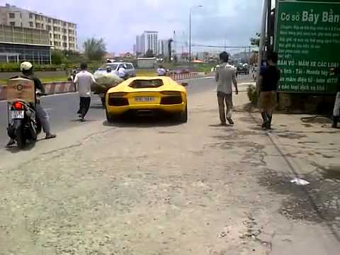 Lamborghini Aventador của anh cường Dola