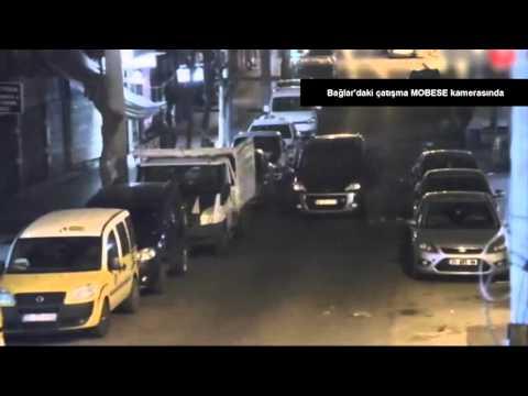 Diyarbakır Bağlar'daki çatışma MOBESE kamerasında