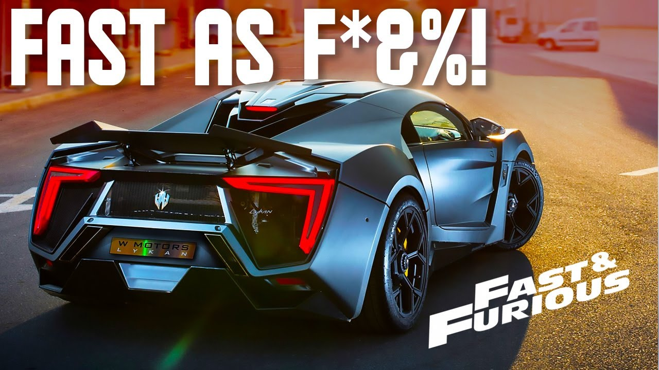 Download The FASTEST Cars in The Fast And Furious Franchise