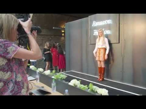 Amazon Fashion Photography Studio Launch In London with Suki Waterhouse