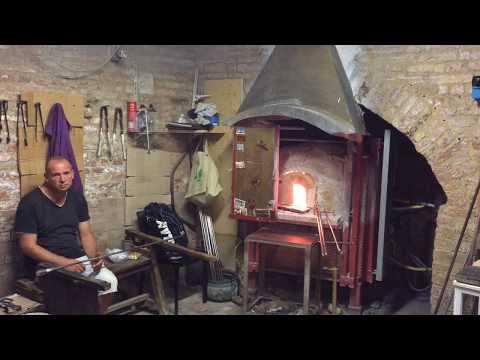 Sculpting Ferrari Glass Horse | Italy Murano Glass | Glass Making the Old fashioned Way