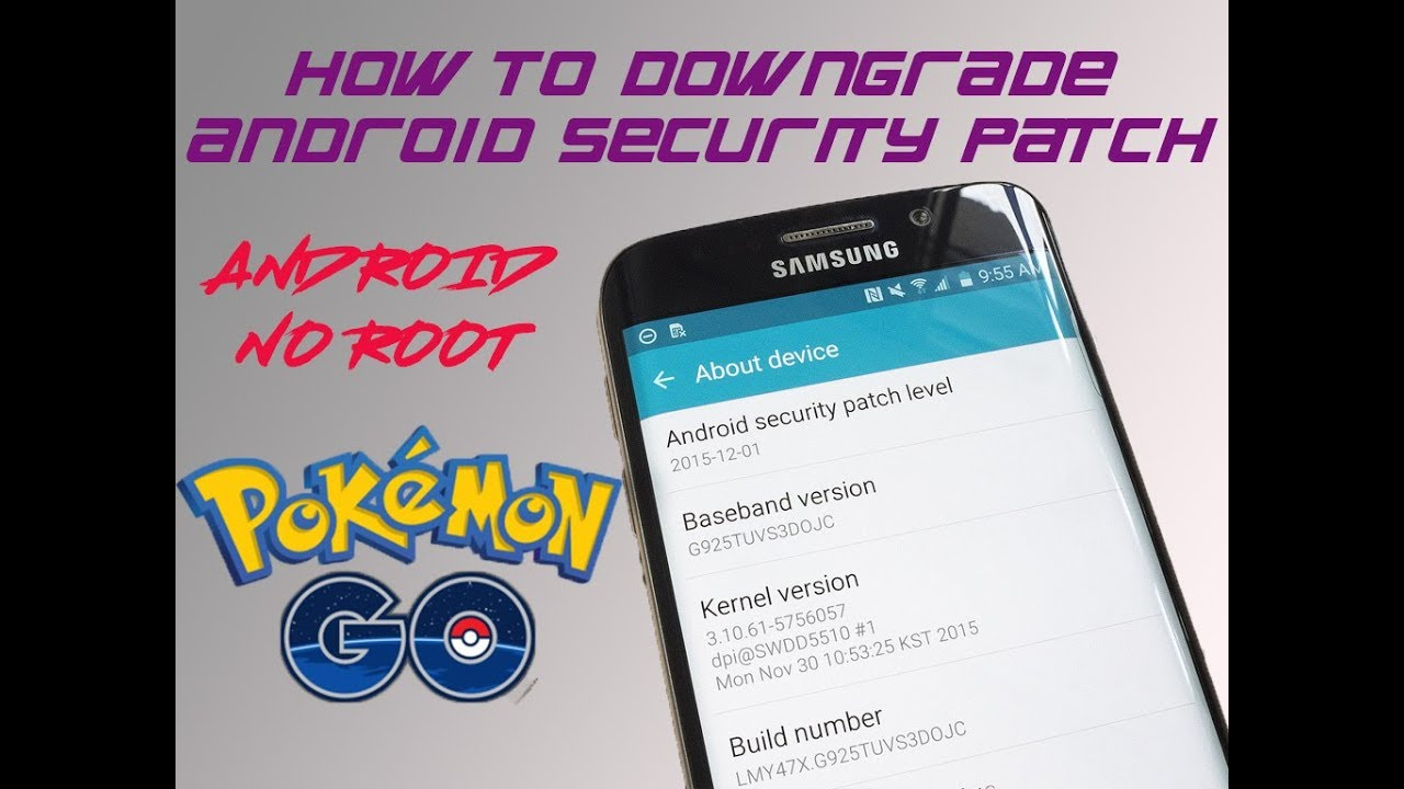 How to GPS Spoof Pokemon GO Android-Downgrade Security Patch! May 2018!  Gift Card Giveaway!
