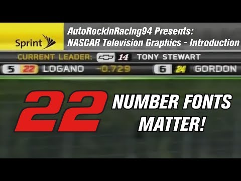 NASCAR Television Graphics: Introduction
