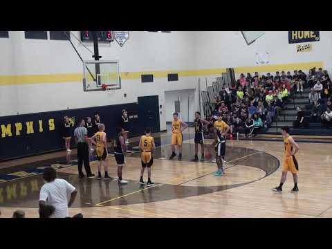 Recognition Night Memphis JV Basketball Vs Clintondale Dragons (03-06-2020)