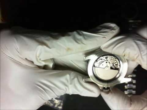 invicta 8926 Miyota 9015 movement swap to Alpha stainless diver watch case