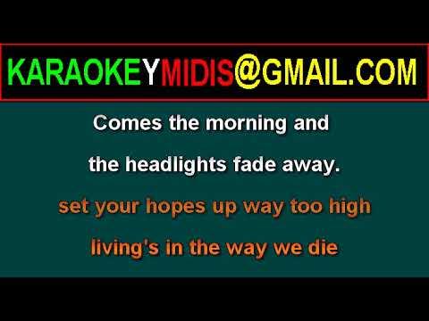 midi a ha - the living daylights karaoke