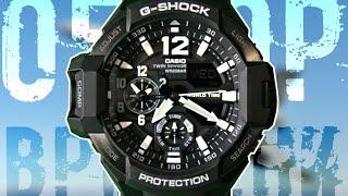 g-SHOCK GA-1100-1A  Обзор и настройка (на русском)  Купить со скидкой