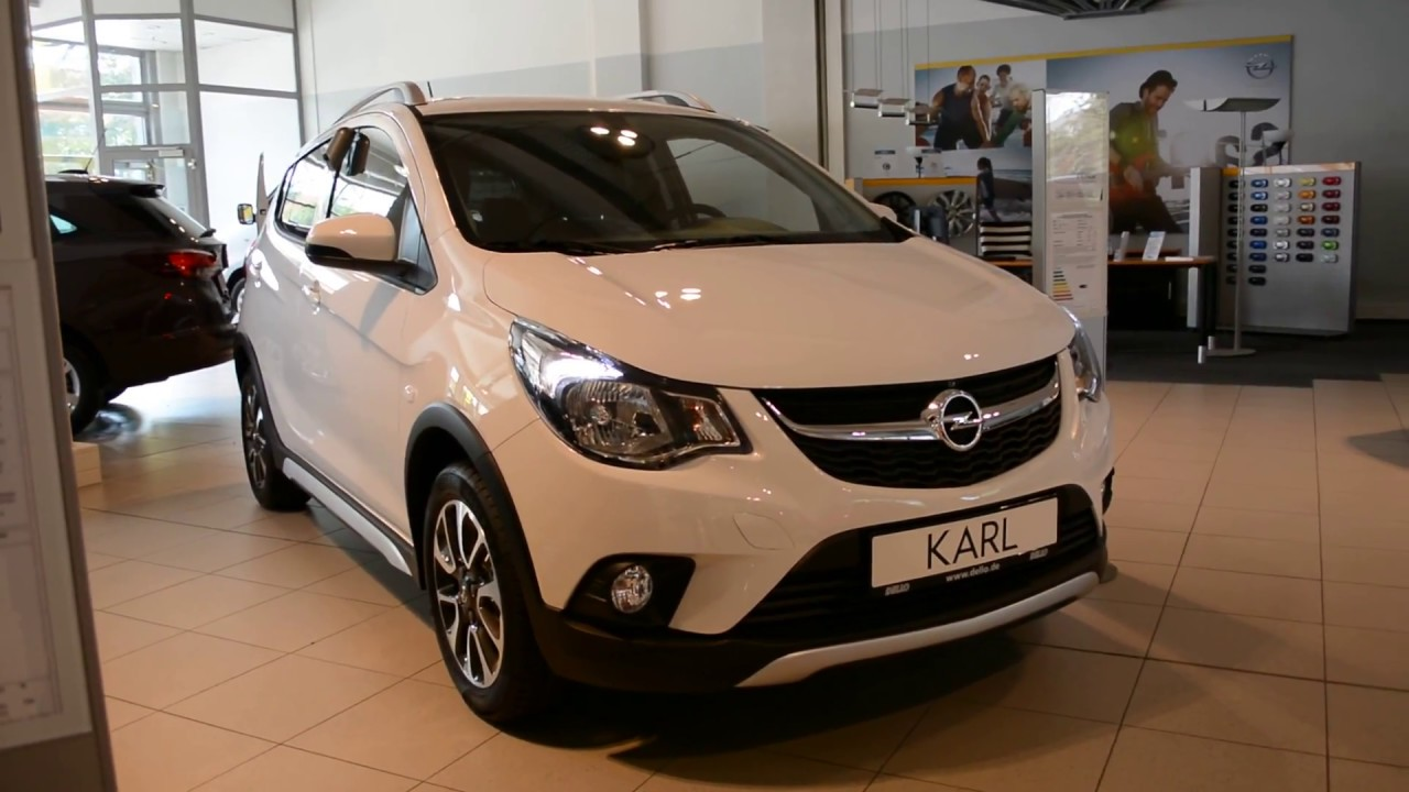 2018 new opel karl rocks exterior and interior youtube. Black Bedroom Furniture Sets. Home Design Ideas