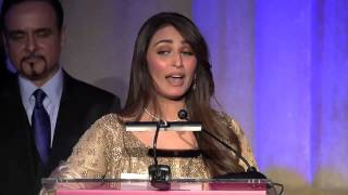 Reema Khan Complete Acceptance Speech - 2014 AAM Awards Dinner