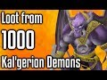 RS3 - Loot from 1000 Kal'gerion Demons