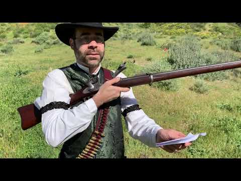 Eric With His Model 1888 Springfield Trapdoor (.45-70)