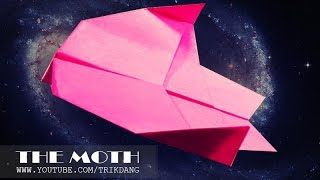 SIMPLE PAPER PLANE - How To Make A Plane That Flies | The Moth
