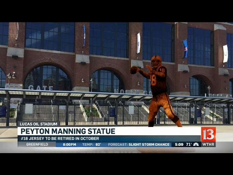 Statue to honor Peyton Manning