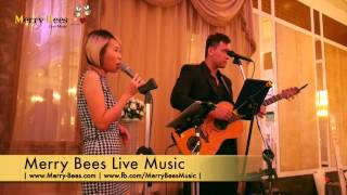 Merry Bees Live Music - Regine sings Can't Take My Eyes (Andy Williams cover)