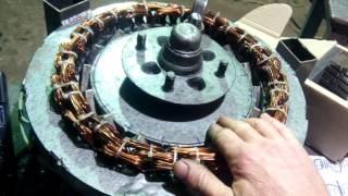 видео Ветрогенератор 4 кВт своими руками диаметр 5 метров wind generator