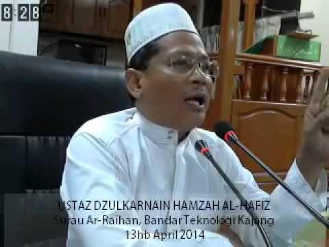 Ceramah ust DZULKARNAIN HAMZAH AL-HAFIZ