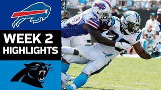 Bills vs. Panthers | NFL Week 2 Game Highlights 2017 Video