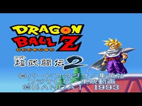 Snes Longplay [°043] Dragon Ball Z: Super Butōden 2 | Gohan