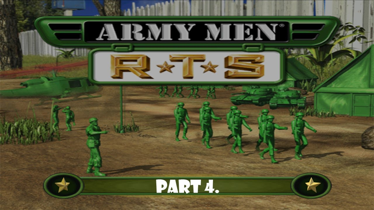 Army Men RTS mission 4.