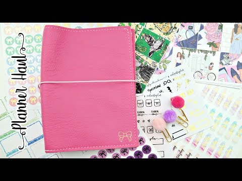 Planner Haul! New TN, Stickers, and Craft Supplies