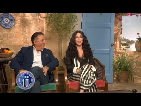 Mamma Mia! 2 Exclusive: Cher & Andy Garcia | Studio 10