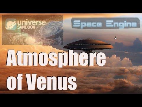 VENUS ATMOSPHERE - Terraforming/Colonization/Magnetosphere