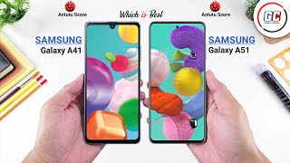 Samsung Galaxy A41 vs Samsung Galaxy A51 || Full Comparison || Camera, Performance, Battery, Price.
