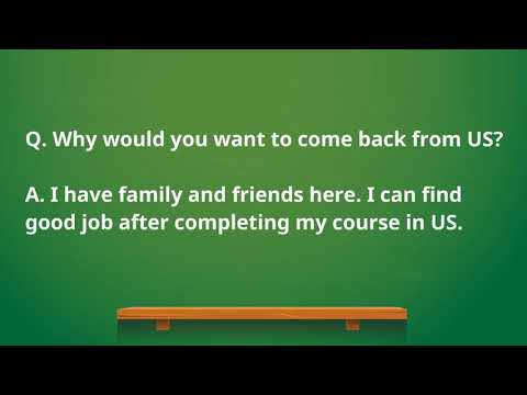 F1 Visa Interview Questions And Answers USA 2019