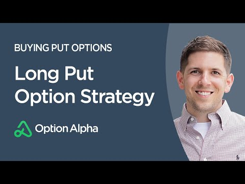 Long Put Option Strategy