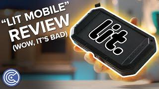 Lit Mobile Scam Solar Charger Review (Not Worth $100) - Krazy Ken's Tech Talk