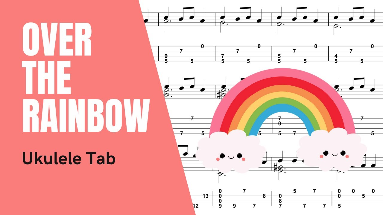Brittni paiva somewhere over the rainbow ukulele tutorial brittni paiva somewhere over the rainbow ukulele tutorial tablature youtube hexwebz Image collections