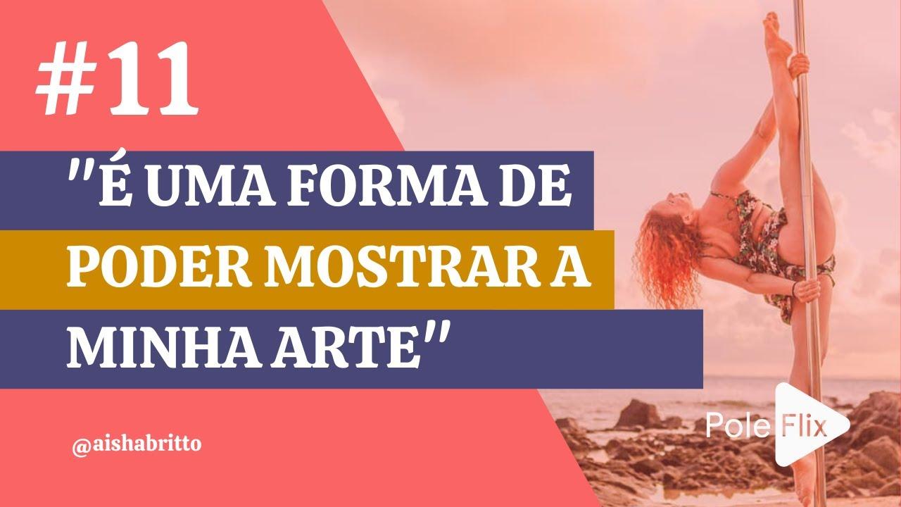 AISHA BRITTO // É UMA FORMA DE PODER MOSTRAR A MINHA ARTE
