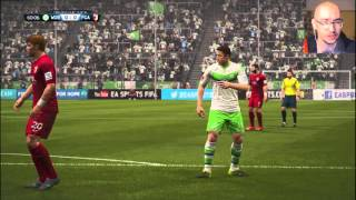 Video Gol Pertandingan Wolfsburg vs FC Augsburg
