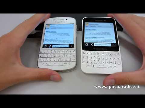 Confronto BlackBerry Q10 vs BlackBerry Q5 ita by AppsParadise