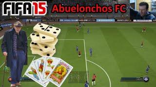 FIFA 15 UT - Abuelonchos FC: Dominó, Tute y Brisca || Ultimate Team Online (y apertura megasobres)