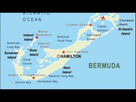 horseshoe bay bermuda map YouTube