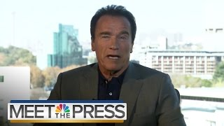 Arnold Schwarzenegger On Donald Trump, The Republican Party And 2016 | Meet The Press | NBC News