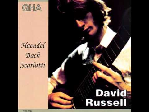 David Russell - 4 Scarlatti sonatas (HQ audio)
