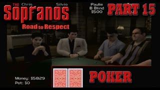 The Sopranos: Road To Respect - Part 15  Texas Hold'em Poker  Gameplay