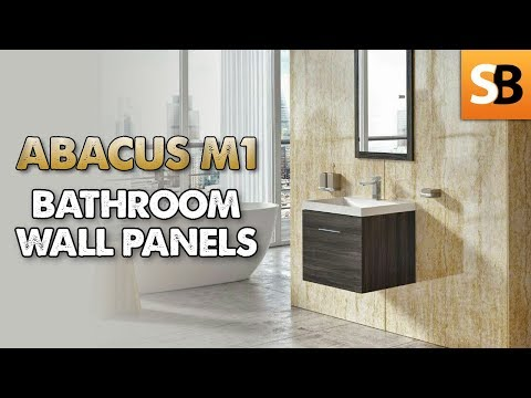 Abacus M1 PVC Waterproof Bathroom Wall Panels