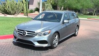 2014 mercedes e350 4matic wagon audi a6 2 0t