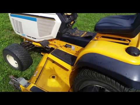 Cub Cadet super garden tractor 2182